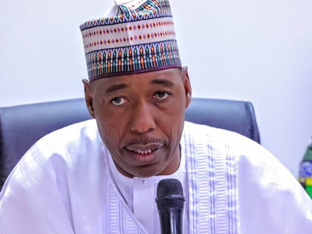 Zulum says war against insurgency will remain undefeated until.…