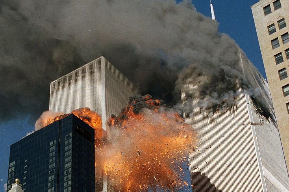 World Trade Centre attacked on September 11, 2001