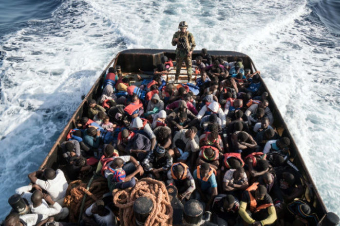 Moroccan Navy rescues 183 illegal migrants