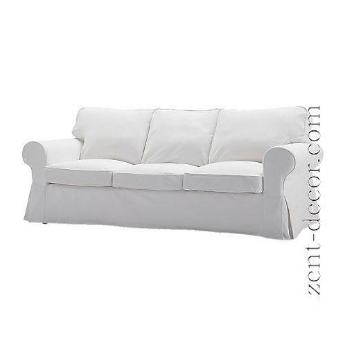 Slipcover for Ektorp 3 seat sofa bed PIXBO: Suede