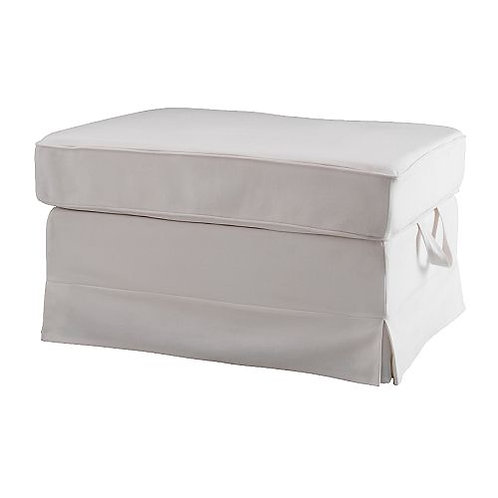 Slipcover for Ektorp Bromma footstool: Suede