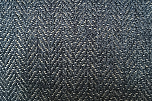 Fabric sample: Herringbone 9438 blue