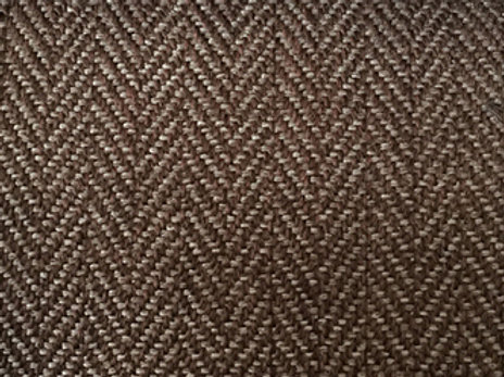 Klippan footstool- Herringbone 9431 brown
