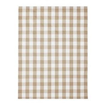 Ektorp Bromma- Checkered Pattern: Berta beige