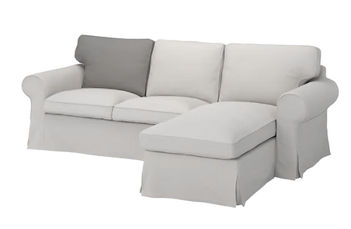 Back cushion for Ikea Ektorp 3 seat sofa with Chaise Lounge- left/right