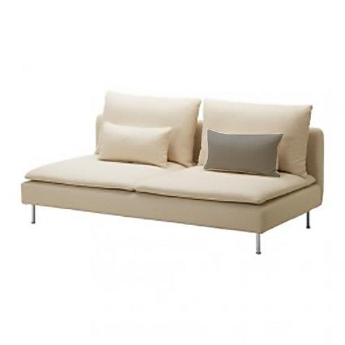 Back cushion insert (small) for Ikea Soderhamn 3 seat sofa