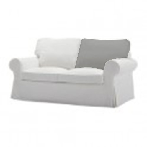 Back cushion insert for Ikea Ektorp 2 seat sofa
