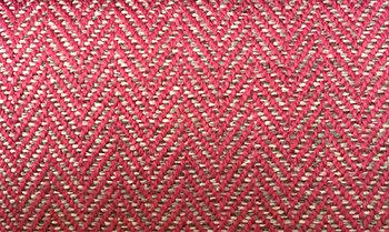 Fabric sample: Herringbone 9436 pink
