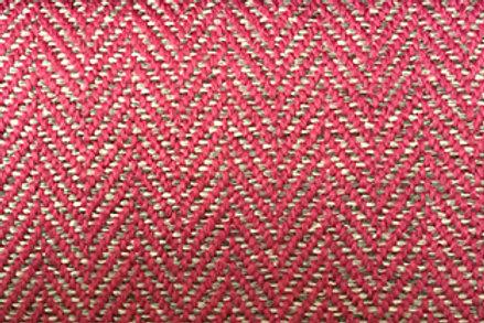 Fabric per meter: Herringbone 9436 pink