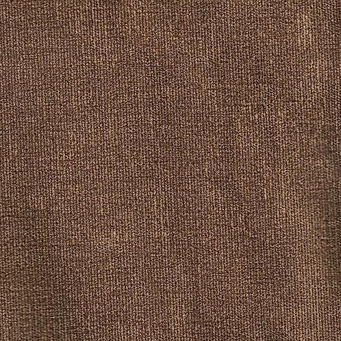 Kivik footstool-Velour: MC 17 velour light brown