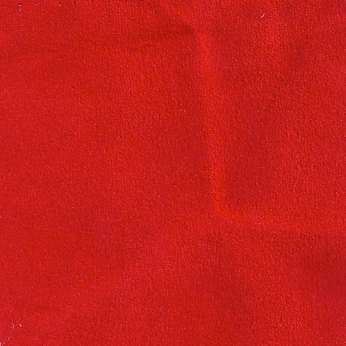 Fabric sample: Alt 25 suede red