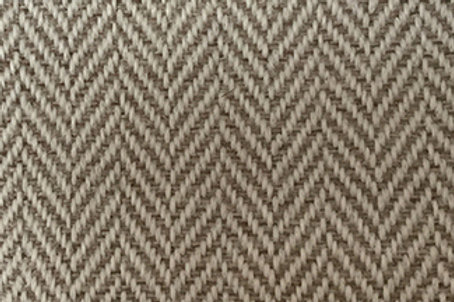 Fabric sample: Herringbone 9430 beige