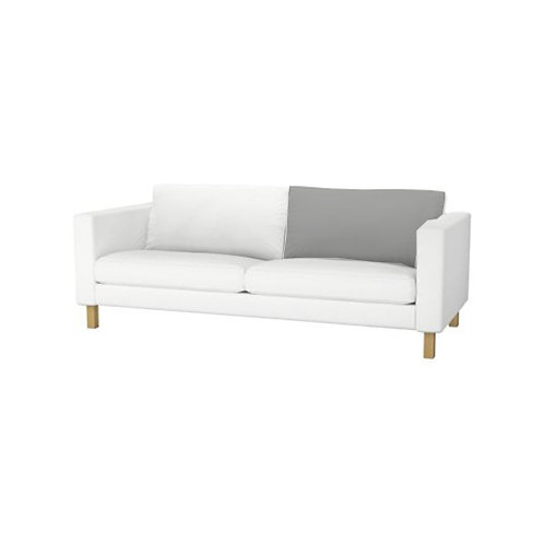 Back cushion for Ikea Karlstad 3 seat bed sofa- right/left