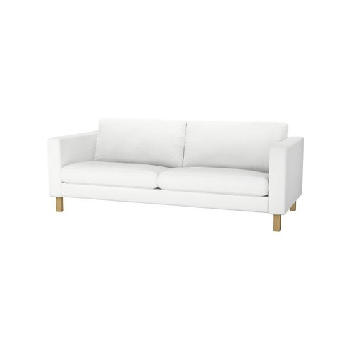 Slipcover for Karlstad 2 seat sofa: Velvet