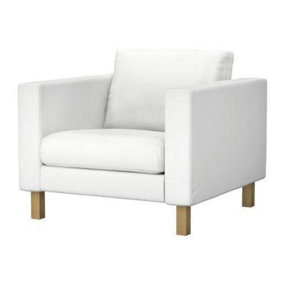 Slipcover for Karlstad armchair: Velvet