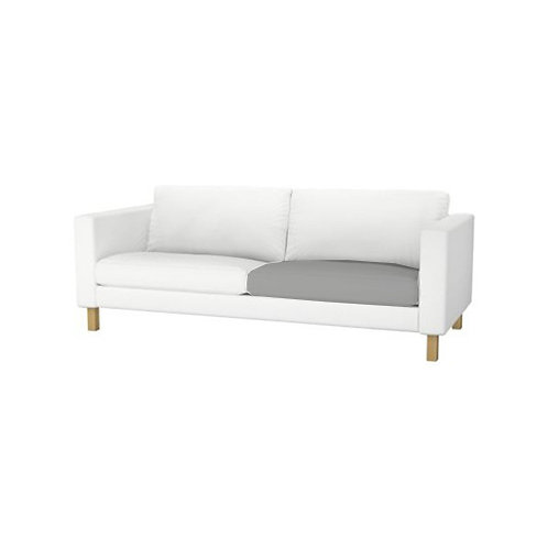 Seat cushion insert for Ikea Karlstad 2 seat sofa