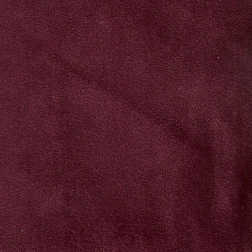 Fabric sample: Alt 30 suede plum