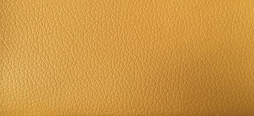 Kivik footstool: Eco Leather 9337 yellow