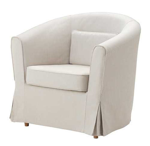 Slipcover for Ektorp Tullsta Armchair: Suede