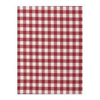 Fabric sample: Berta red