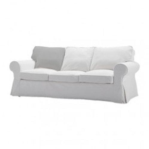 Back cushion for Ikea Ektorp 3 seat sofa- right/left