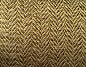 Fabric sample: Herringbone 9433 yellow