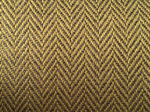 Klippan footstool-Herringbone 9433 yellow