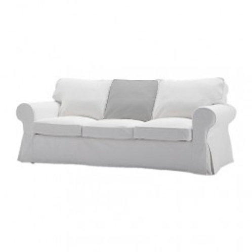 Back cushion for Ikea Ektorp 3 seat sofa-centre