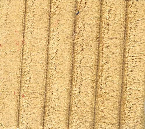 Fabric sample: Corduroy 3 yellow