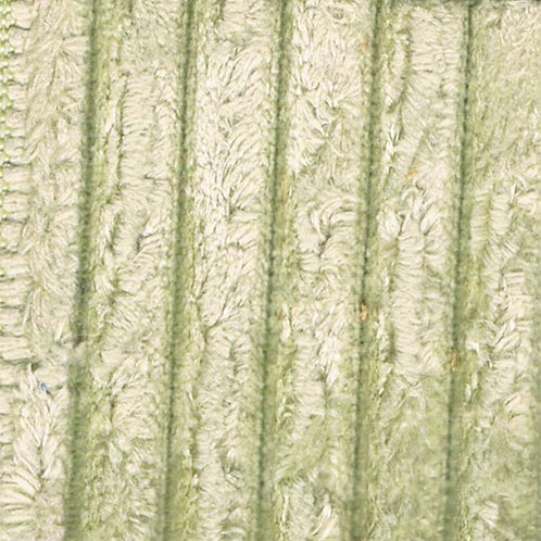 Fabric sample: Corduroy 2 light green