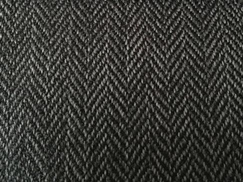 Fabric per meter: Herringbone 9441 black