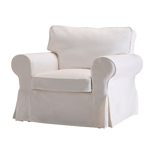Slipcover for Ektorp Armchair: Suede