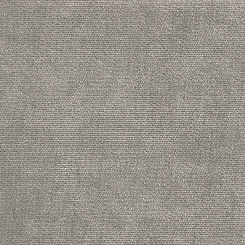 Kivik footstool-Velour: MC 20 velour light grey