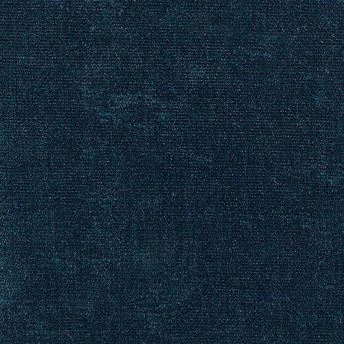 Kramfors footstool-Velour: MC 21 velour dark blue