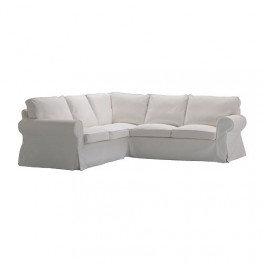Slipcover for Ektorp 4 seat corner sofa: Velour