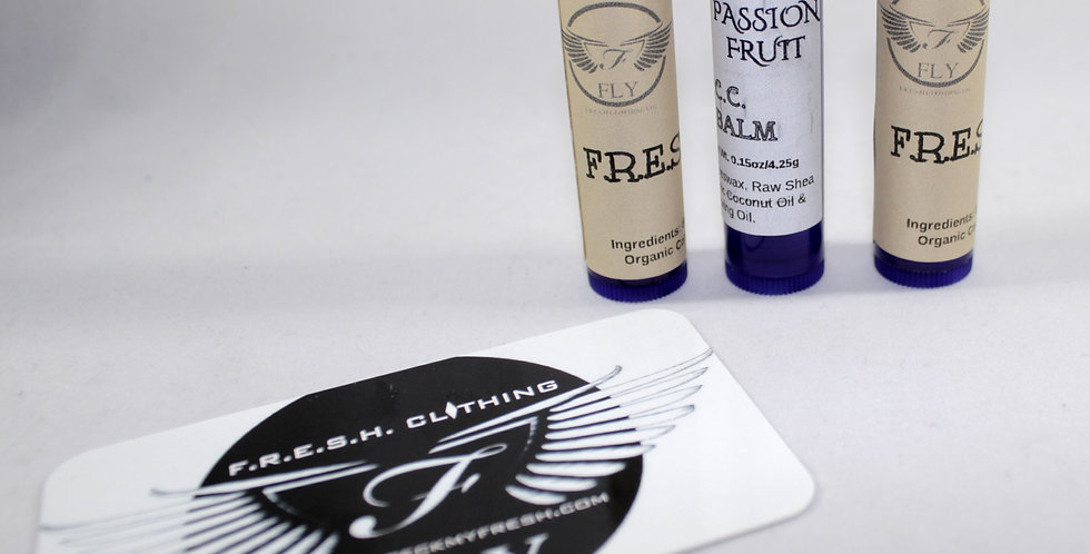"#FCC ""F.R.E.S.H. FRUIT"" MOISTURIZING LIP BALM (PASSION FRUIT)"