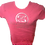 Thumbnail: Hot Pink/Platinum F.R.E.S.H. Fitted Tee