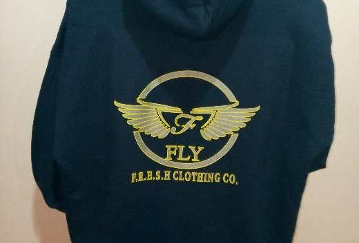 Navy Blue/Yellow/Grey F.R.E.S.H. Hoody
