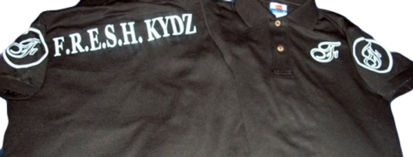 Black/White Kydz Polo