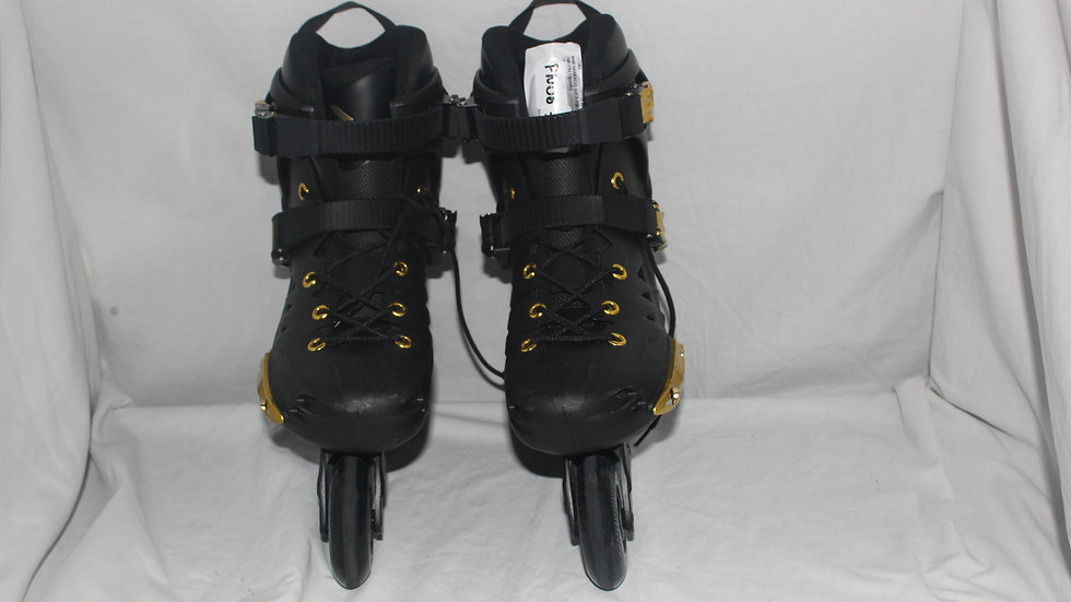 Patins Oxer Darkness Gold - In Line - Freestyle