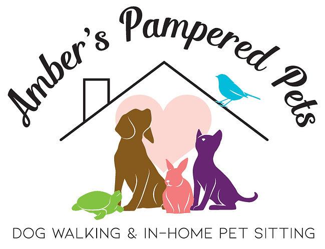 Ambers Pampered Pets Logo