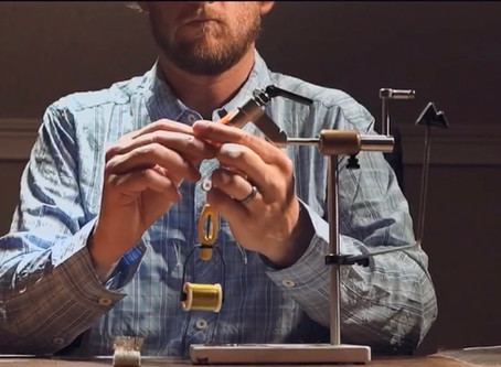 A different type of fly tying video