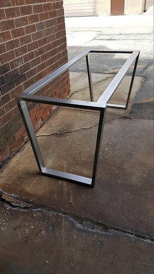 Estructura metálica soporte mesa