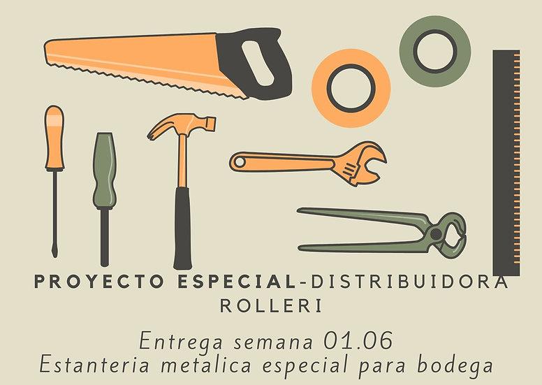 Estanteria Bodegas - DISTRIBUIDORA ROLLERI