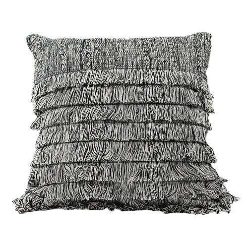 Decorative Fringe Pillow Cover
