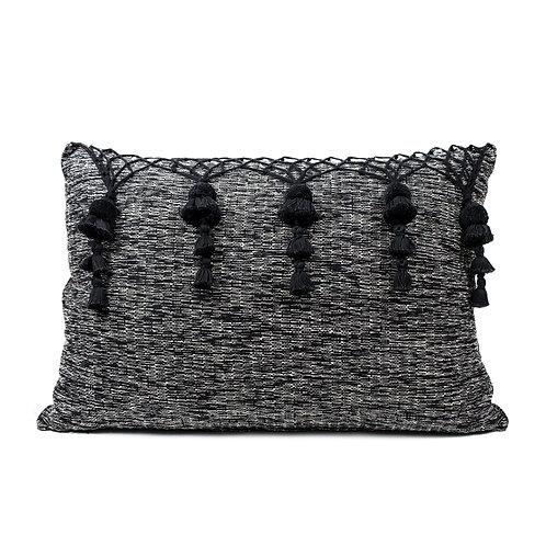 Five Tassel Decorative Pillow Cover
