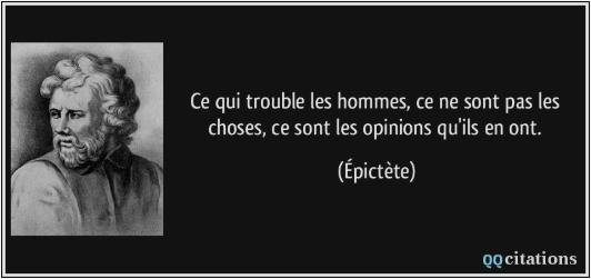 Citation Epictète, changement, deuil, accompagnement thérapie brève Anne-Flor Murienne Vannes, hypnosecoaching56.com