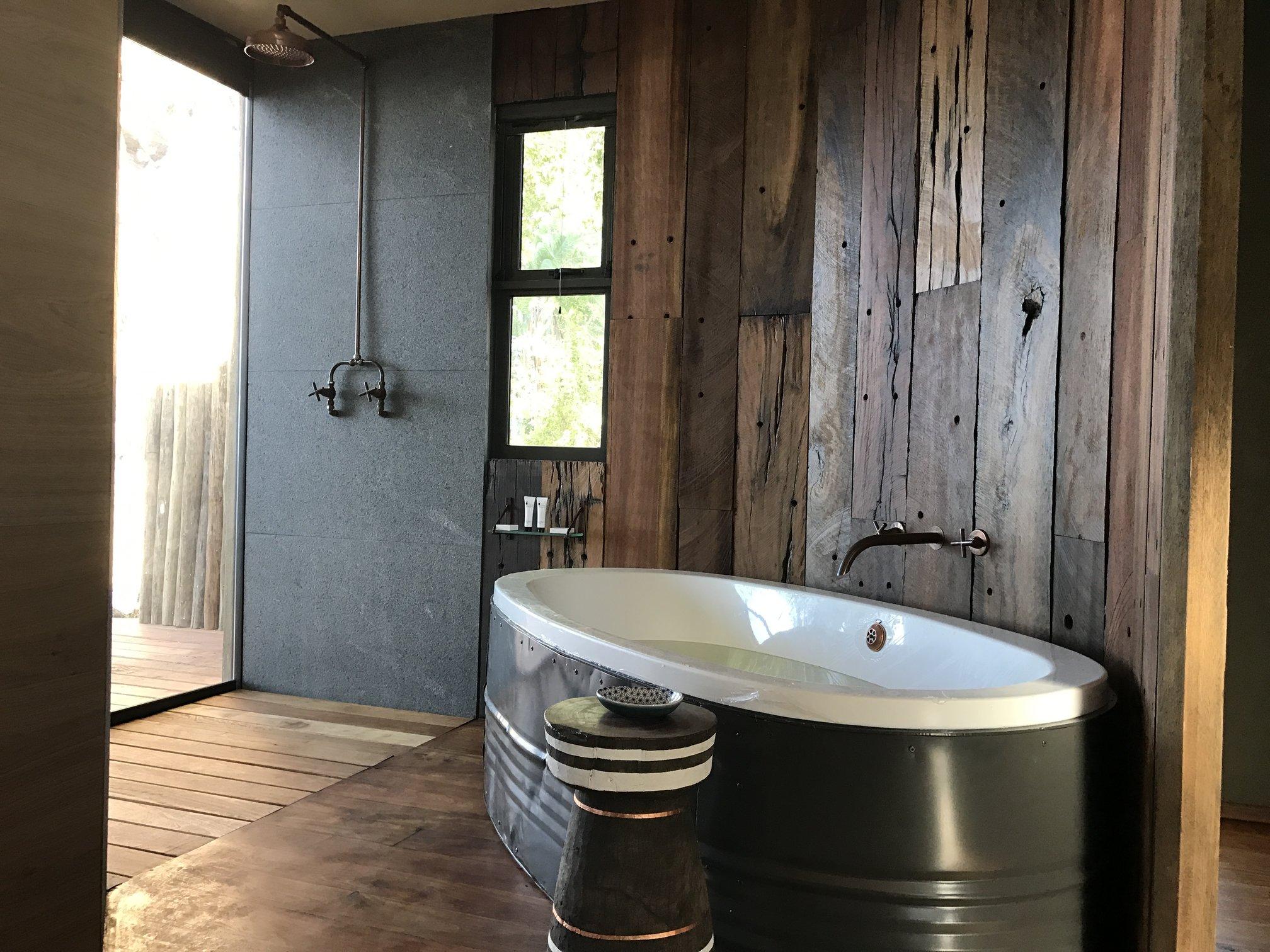 Bathroom pod interior