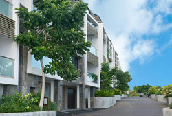 External elevation of building