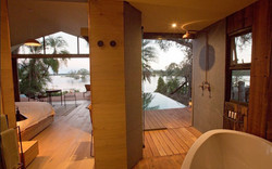 View from bathroom